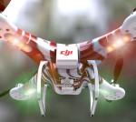 DJI Phantom 3D Model Cinema4D C4D .c4d .3ds .obj .max