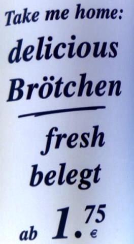 Englische Slogans falsch verstanden: skurrile Werbewelt.   Seite 1