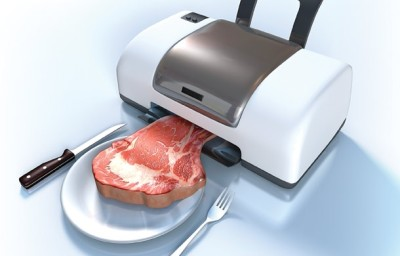 Fleisch aus dem 3D-Drucker