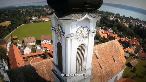 Marienmünster Diessen am Ammerse FPV DJI Phantom Mobius HD Action Cam