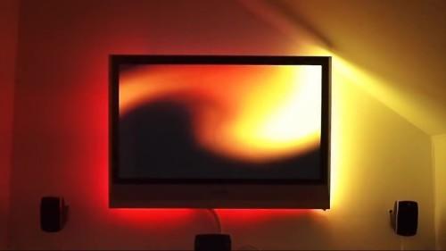 ambilight atmolight philips selber bauen kaufen plugin basteln demo video bausatz fernseher nachrüsten heimkino raspberry dreambox 800 se newnigma rgb led strip