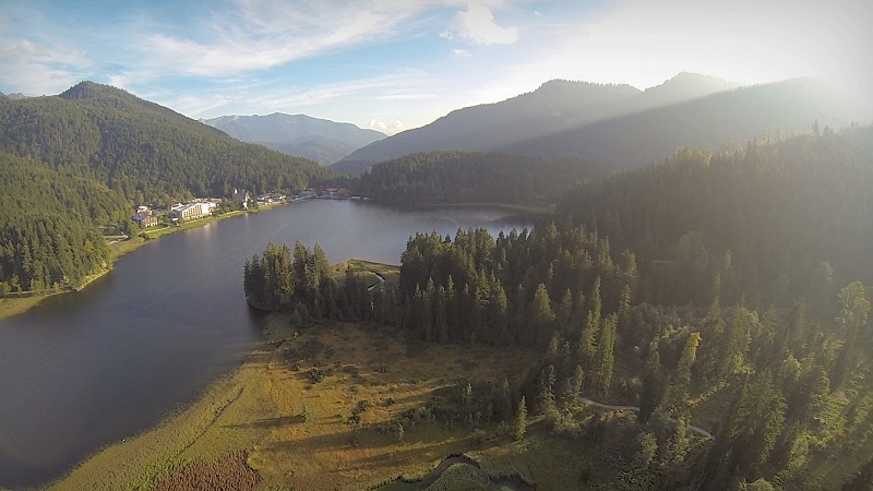 phantom rotwand spitzingsee alps alpen bavaria bayern fpv zenmuse flug flying herbststimmung autumn mood