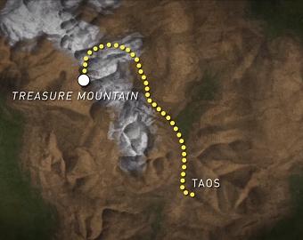 fluch des treasure mountain karte colorado rocky mountains schatz legende mythos ausserirdische fluch indianer mike vom mars blog