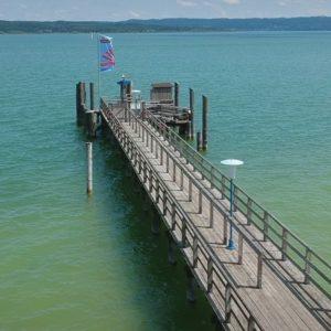 DJI Spark: Ammersee Lake Flight