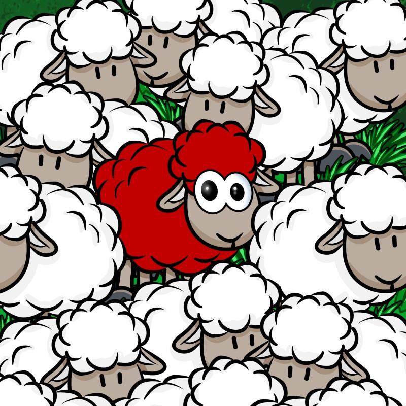 herdenmensch herdenzwang gruppenmensch gruppenzwang alleinsein allein sein einsamkeit psychotest test bist du gern allein quiz selbstbewusst mitläufer mike vom mars blog