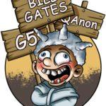 (German) covidiot qanon g5 bill gates mikes tagebuch der apokalypse corona krise pandemie sars covid 19 seuche virus cartoon fun lustig mike vom mars blog